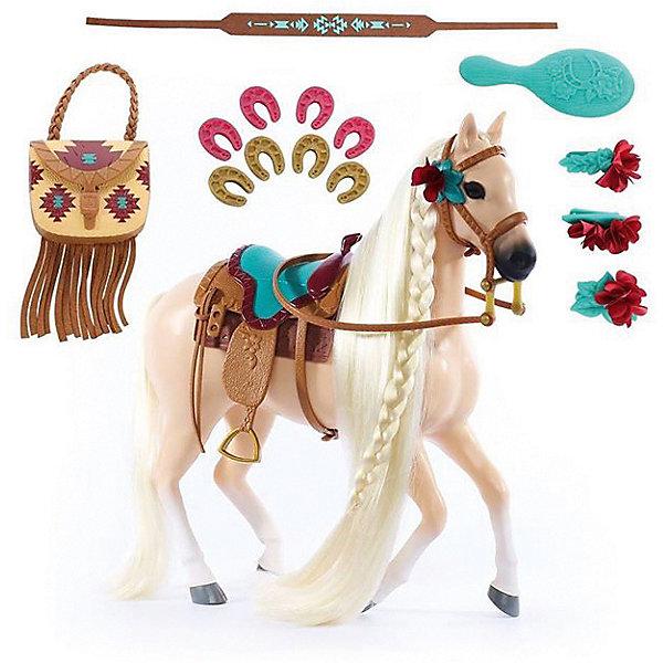 Игровой набор Blip Toys Лошадка Skye в наборе с аксессуарами, 19 предметовИгровые наборы с фигурками<br>Характеристики товара: <br><br>• возраст: от 5 лет;<br>• цвет: бежевый;<br>• комплект: лошадка, уздечка, сумочка, седло, 2 пары подков, расческа, заколки;<br>• из чего сделана игрушка (состав): пластик;<br>• размер упаковки: 45х8х35 см.;<br>• вес: 1,425 кг.;<br>• размер игрушки: 30 см.;<br>• упаковка: картонная коробка.<br><br>Игровой набор Лошадка Skye представляет собой красочный и интересный комплект, который по достоинству оценит каждая девочка. Все элементы отлично проработаны: фигурка лошади выполнена в палевом цвете, она имеет длинную гриву и хвост цвета блонд, уздечку и сымитированное кожаное седло. <br><br>Такие дополнительные аксессуары, как украшения для гривы в виде цветов, розовые и зеленые подковы и расческа позволят девочке ухаживать за лошадкой, научат любви и заботе о животных.<br><br>Играя с таким набором, дети смогут придумать множество увлекательных историй с захватывающими сюжетами про волшебную лошадку и отлично провести свое время.<br><br>Игровой набор Лошадка Skye можно купить в нашем интернет-магазине.<br>Ширина мм: 450; Глубина мм: 80; Высота мм: 350; Вес г: 1425; Цвет: бежевый; Возраст от месяцев: 60; Возраст до месяцев: 120; Пол: Женский; Возраст: Детский; SKU: 8688435;