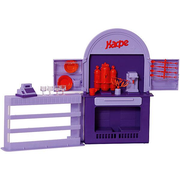 Огонек Мебель для куклы Огонёк Кафе-бар