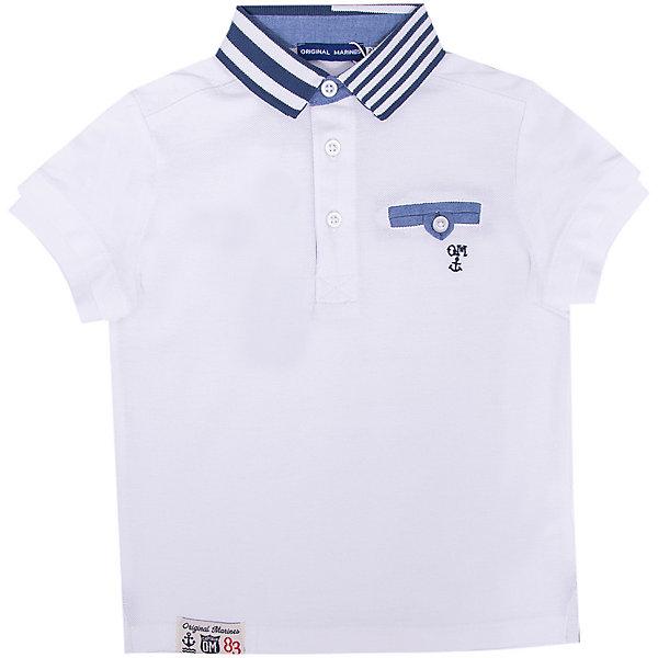 Original Marines Футболка-поло Original Marines для мальчика футболка детская original single polo