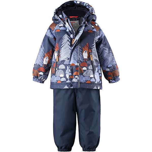 Купить Комплект Reima Ruis: куртка и полукомбинезон, Китай, темно-синий, 98, 86, 92, 80, Мужской