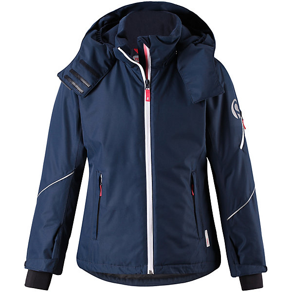 Купить Куртка Glow Reima для девочки, Вьетнам, темно-синий, 158, 152, 110, 104, 128, 122, 116, 146, 134, 140, 164, Женский