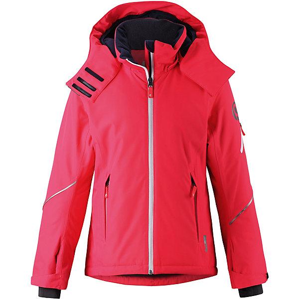 Купить Куртка Glow Reima для девочки, Вьетнам, красный, 134, 116, 152, 128, 146, 110, 158, 140, 104, 164, 122, Женский