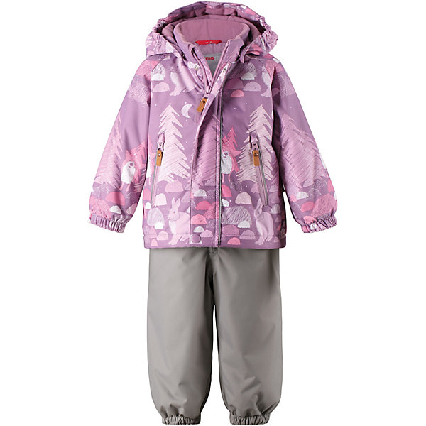 Купить Комплект Reima Ruis: куртка и полукомбинезон, Китай, розовый, 92, 98, 80, 86, Женский
