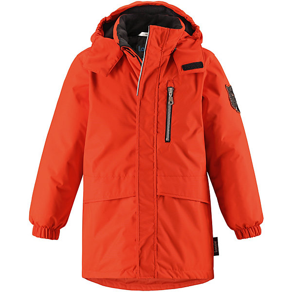 Куртка Lassie для мальчикаОдежда<br>Характеристики товара:<br><br>• состав: 100% полиэстер, полиуретановое покрытие <br>• подкладка: 100% полиэстер <br>• утеплитель: 100% полиэстер, 180 гр/м2 <br>• температурный режим: от -15 до -30С <br>• сезон: зима <br>• водонепроницаемость: 1000 мм <br>• воздухопроницаемость: 2000 мм <br>• износостойкость: 20000 циклов (тест Мартиндейла) <br>• застёжка: молния с защитой подбородка <br>• водо- и ветронепроницаемый, дышащий и грязеотталкивающий материал <br>• гладкая подкладка из полиэстера <br>• безопасный съемный капюшон <br>• эластичные манжеты на рукавах <br>• ветрозащитная планка на липучках <br>• два кармана с клапанами <br>• нагрудный карман на молнии <br>• светоотражающие детали <br>• страна бренда: Финляндия<br><br>Данный температурный режим рассчитан на совмещение данной модели с термобельем или флисовой поддевой.<br><br>Информация о технических характеристиках носит справочный характер и основывается на последних доступных сведениях от производителя. <br><br>Повседневная удобная зимняя парка идеальна для снежных и морозных дней.