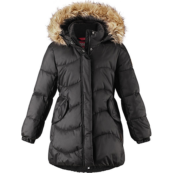 Купить Куртка Reima для девочки, Китай, черный, 134, 110, 128, 122, 146, 104, 140, 164, 158, 116, 152, Женский