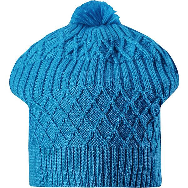 Шапка Miila ReimaШапки и шарфы<br>Характеристики товара:<br><br>• состав: 50% шерсть, 50% полиакрил <br>• подкладка: 100% полиэстер, флис <br>• утеплитель: без дополнительного утепления <br>• сезон: зима <br>• особенности: вязаная <br>• застёжка: без застёжки <br>• эластичный материал <br>• шерсть идеально поддерживает температуру <br>• сплошная подкладка: мягкий тёплый флис <br>• ветрозащитные вставки в области ушей <br>• страна бренда: Финляндия<br><br>Зимняя шапка-бини из смеси шерсти для холодной осени и зимы с тёплой флисовой подкладкой.