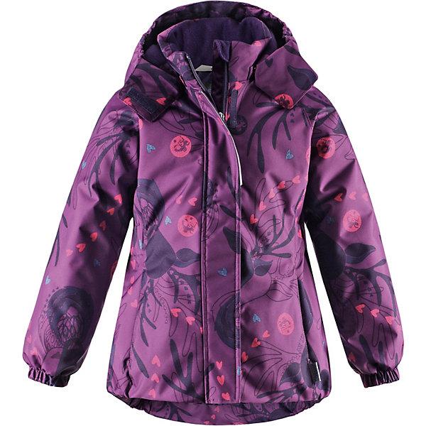 Купить Куртка Lassie для девочки, Китай, лиловый, 116, 110, 98, 134, 92, 140, 122, 128, 104, Женский