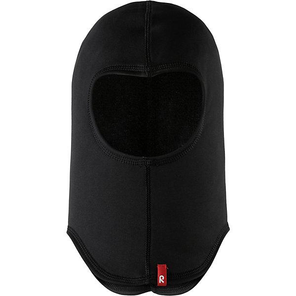 Купить Шапка-шлем Reima Huuhkaja, Китай, черный, 52, 56, 48, Унисекс