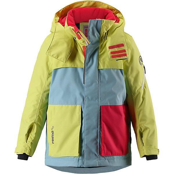 Купить Куртка Rondane Reima для девочки, Вьетнам, желтый, 140, 128, 116, 122, 104, 110, 134, Женский