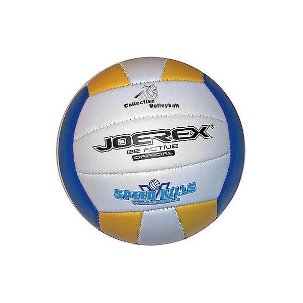 Мяч волейбольный JOEREX Speed KillsМячи детские<br>Характеристики:<br><br>• возраст: от 3 лет;<br>• количество панелей: 6;<br>• количество подкладочных слоев: 3;<br>• диаметр: 65-67см;<br>• тип соединения панелей: сшитый;<br>• материал: ПВХ;<br>• размер: 5;<br>• вес: 270 гр;<br>• бренд: Joerex<br><br>Волейбольный мяч Speed Kill рекомендован для игры и проведения тренировок команд разных уровней.<br>3 слоя подкладочного материала. Бутиловая камера.<br>Ширина мм: 250; Глубина мм: 250; Высота мм: 125; Вес г: 270; Цвет: разноцветный; Возраст от месяцев: 36; Возраст до месяцев: 1188; Пол: Унисекс; Возраст: Детский; SKU: 8689966;