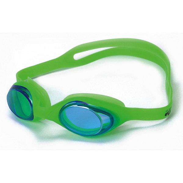 INDIGO Очки для плавания INDIGO, зелёные очки для плавания atemi силикон бел син n9102m
