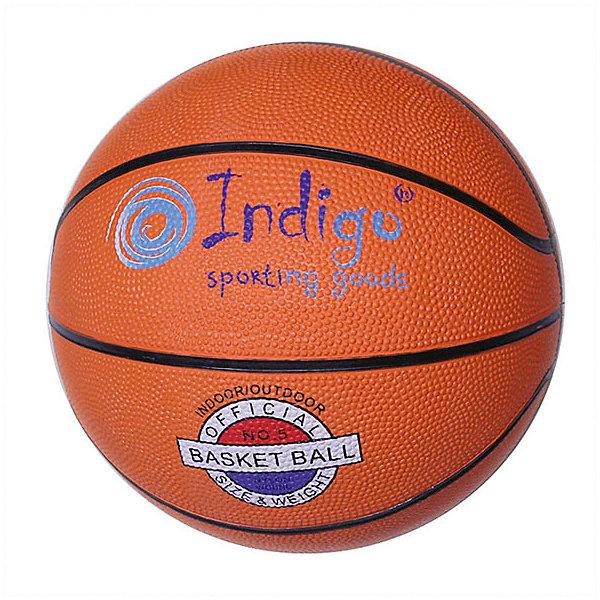 INDIGO Мяч баскетбольный INDIGO № 3 баскетбольный мяч dfc ball5p 5