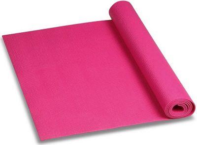 Коврик для йоги INDIGO, цикламеновый, артикул:8690006 - Фитнес