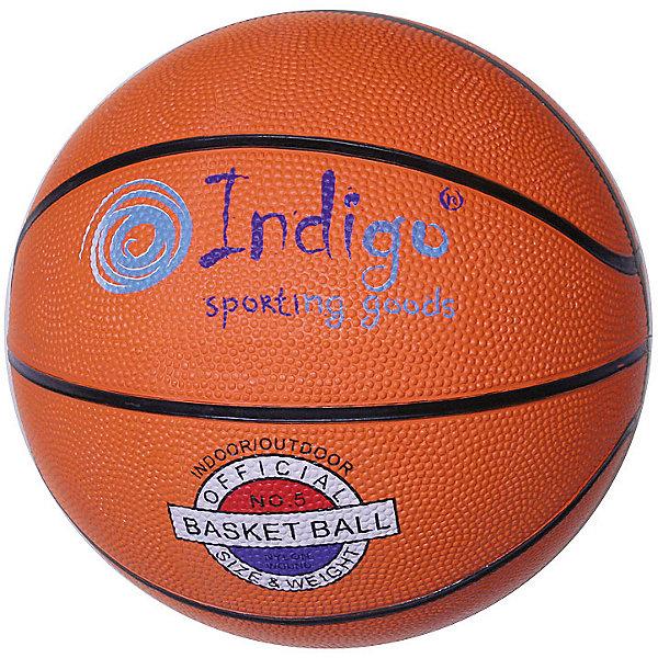 INDIGO Мяч баскетбольный INDIGO № 7 мяч indigo 5 max