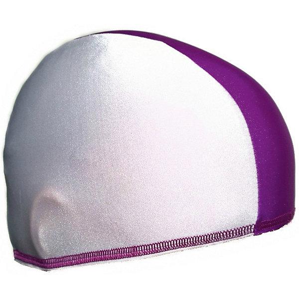 Спортивные мастерские Шапочка для плавания Спортивные мастерские, бело-фиолетовая спортивные куртки