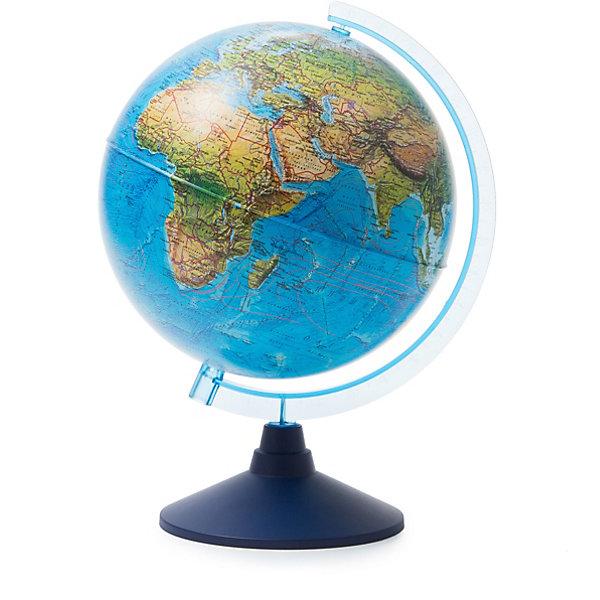 Купить Глобус Земли Globen, ландшафтный, 250мм., Россия, разноцветный, Унисекс