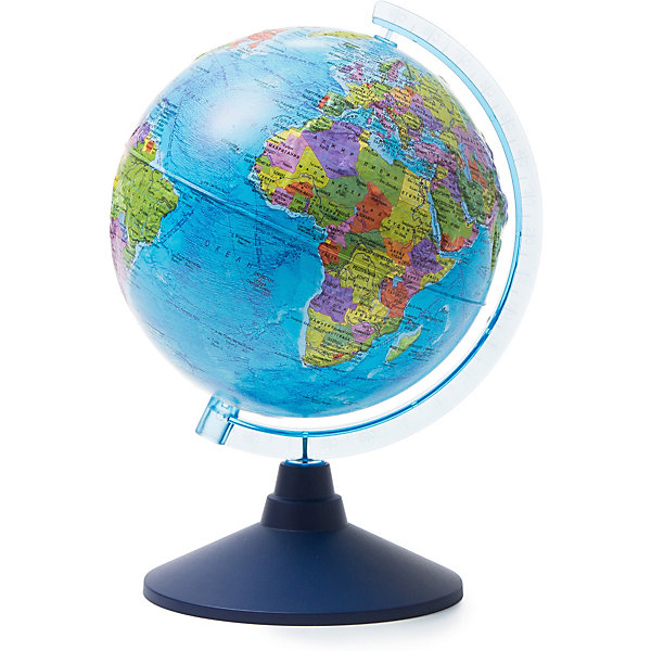 Глобус Земли Globen, политический рельефный, 210мм.