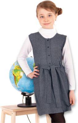 Сарафан Апрель для девочки, артикул:8692498 - Школьная форма