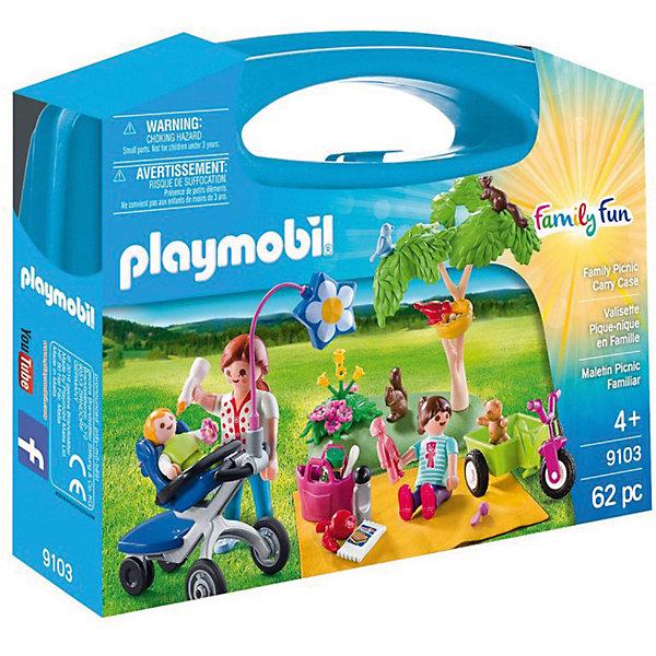 Купить Конструктор Playmobil Возьми с собой Семейный пикник, PLAYMOBIL®, Германия, Унисекс