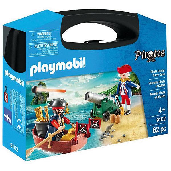 PLAYMOBIL® Конструктор Playmobil Возьми с собой Охотник за сокровищами playmobil® пиратский тайник с сокровищами playmobil