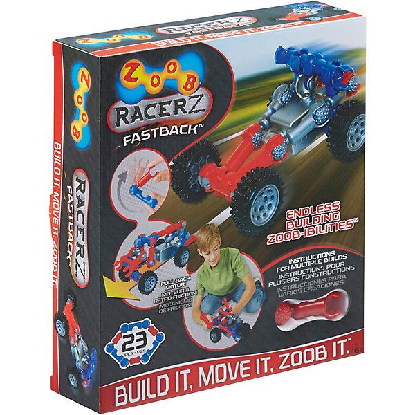 Zoob Конструктор ZOOB Racer-Z Fastback, 18 деталей конструкторы zoob mobile racer 37 элементов