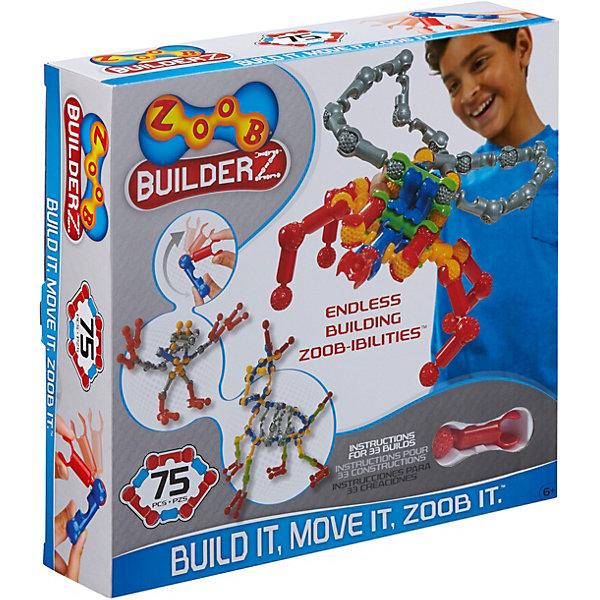 Zoob Контруктор ZOOB Builder-Z, 75 деталей zoob конструктор zoob racer z car designer 76 деталей