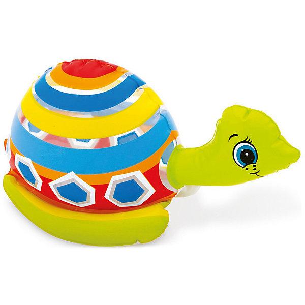 Надувная водная игрушка Intex ЧерепахаНадувные мячи<br>Характеристики:<br><br>• возраст: от 2 лет.<br>• материал: ПВХ<br>• вес упаковки: 57 гр.<br>• размер упаковки: 2х10х15 см.<br>• страна бренда: Россия<br><br>Небольшая по размеру надувная игрушка в виде черепахи от Intex (Интекс) станет верным спутником малыша в веселых играх на воде: в ванной, пруду, море или бассейне.<br><br>Игрушка изготовлена из высококачественного ПВХ, легко надувается.<br><br>Надувную водную игрушку Intex Черепаха можно купить в нашем интернет-магазине.<br>Ширина мм: 22; Глубина мм: 102; Высота мм: 152; Вес г: 300; Цвет: разноцветный; Возраст от месяцев: 24; Возраст до месяцев: 60; Пол: Унисекс; Возраст: Детский; SKU: 8694683;