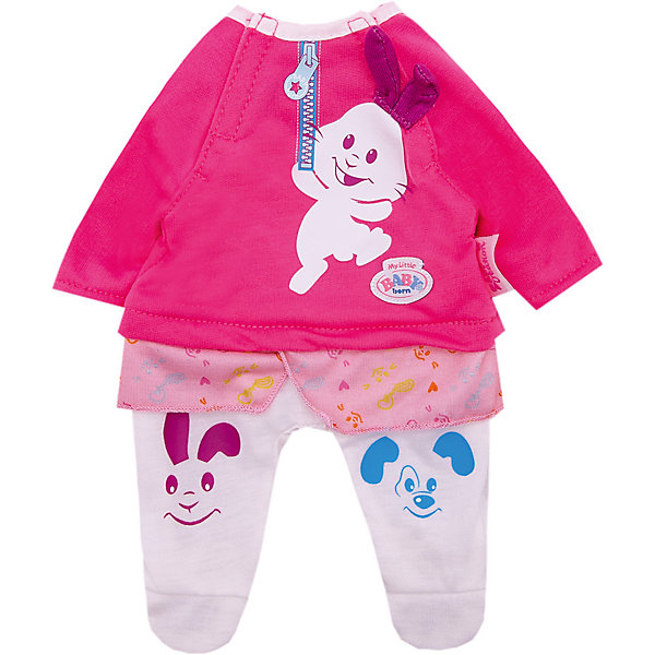 "Zapf Creation Одежда для куклы Zapf Creation ""My little BABY born"" Костюмчик,"