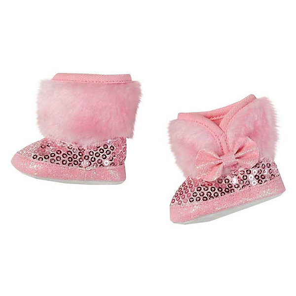 Зимние сапожки BABY born, розовые, Zapf Creation, Китай, розовый, Женский  - купить со скидкой