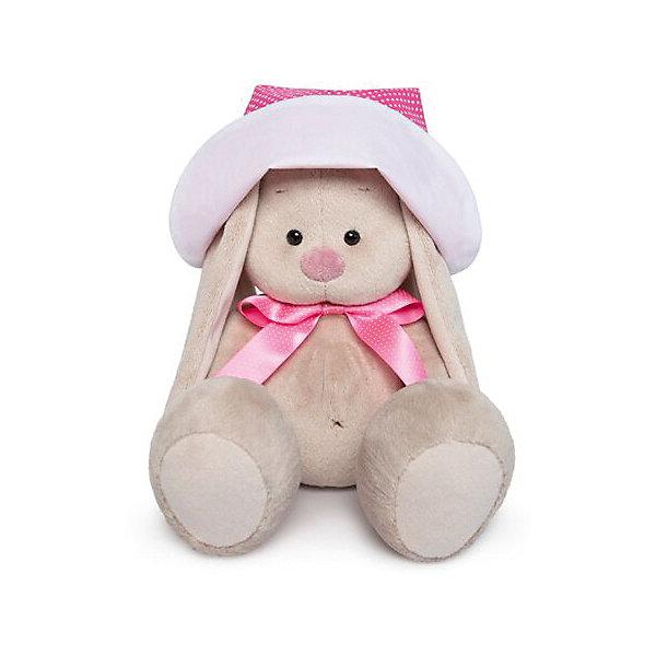 Budi Basa Мягкая игрушка Budi Basa Зайка Ми в розовой панамке и с бантиком, 18 см sima land мягкая игрушка зайка гаврош 30 см