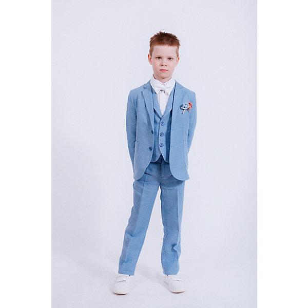Купить Брюки Choupette для мальчика, Россия, голубой, 98, 140, 104, 116, 128, 134, 110, 122, Мужской