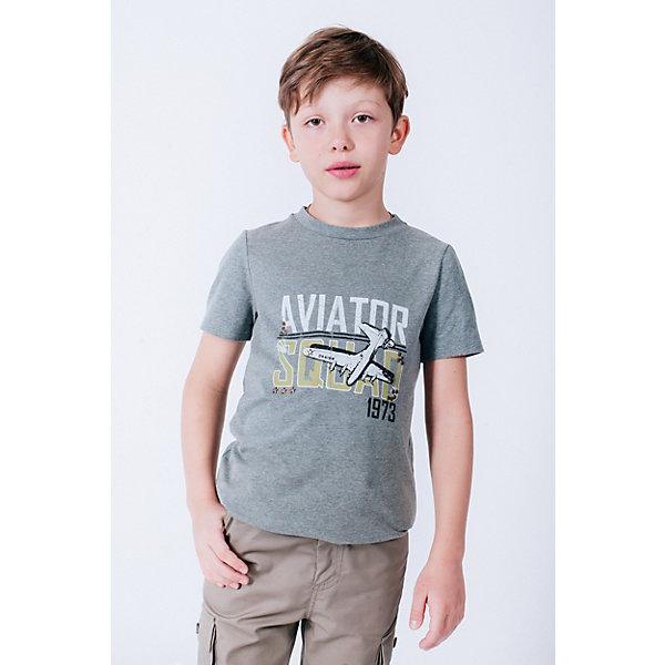 Футболка ChoupetteФутболки, поло и топы<br>Характеристики товара:<br><br>• состав ткани: 90% хлопок, 10% полиэстер;<br>• сезон: лето;<br>• короткие рукава;<br>• страна бренда: Россия.<br><br>Стильная футболка для детей от бренда Choupette может стать основой летнего гардероба. Такая футболка для ребенка сделана преимущественно из дышащего натурального хлопка, а полиэстер добавляет ткани прочности и износоустойчивости. <br><br>Детская футболка декорирована стильным эффектным принтом, цвет изделия - практичный и универсальный. Товары для детей от известного бренда Choupette - это модные вещи, которые добавят в гардероб ребенка оригинальную французскую нотку.