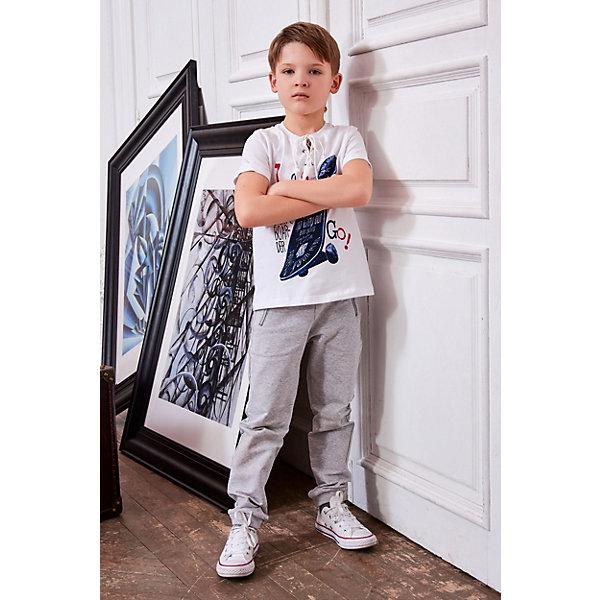 Купить Брюки Choupette для мальчика, Россия, серый, 86, 122, 128, 140, 92, 116, 110, 134, 104, 98, Мужской