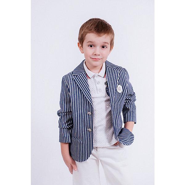 Купить Пиджак Choupette для мальчика, Россия, синий, 98, 116, 110, 122, 134, 128, 104, Мужской