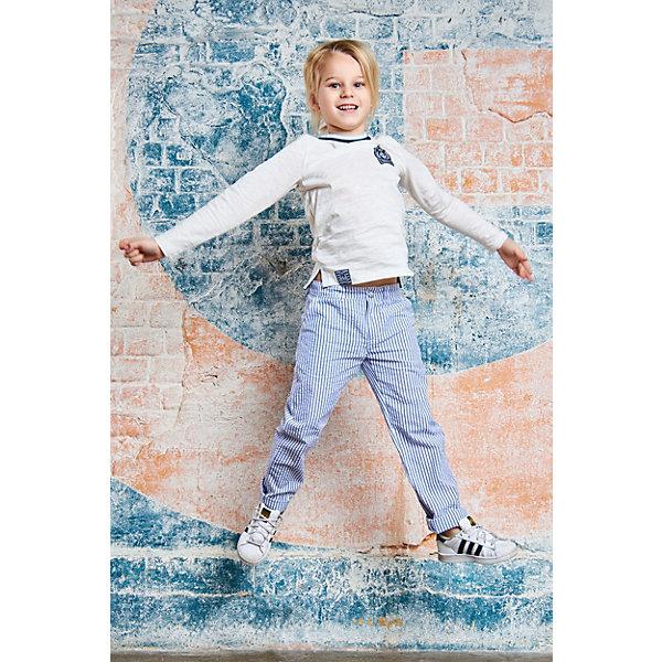 Брюки Choupette для мальчикаБрюки<br>Характеристики товара:<br><br>• цвет: голубой;<br>• состав ткани: 100% хлопок;<br>• сезон: демисезон;<br>• застежка: пуговица, молния;<br>• страна бренда: Россия.<br><br>Брюки для детей - свободного силуэта, они обеспечивают комфорт при прогулках, активном отдыхе и являются стильной деталью гардероба современного ребенка. Брюки для ребенка отлично сочетаются с верхом в молодежном стиле - различными лонгсливами, футболками, толстовками и т.д. Детские брюки сделаны из натурального материала - дышащей хлопковой ткани, которая создает комфортные условия для тела. Детские товары от известного бренда Choupette - это узнаваемый французский стиль и неизменно высокое качество изделий.<br><br>Брюки Choupette (Шупет) для мальчика можно купить в нашем интернет-магазине.