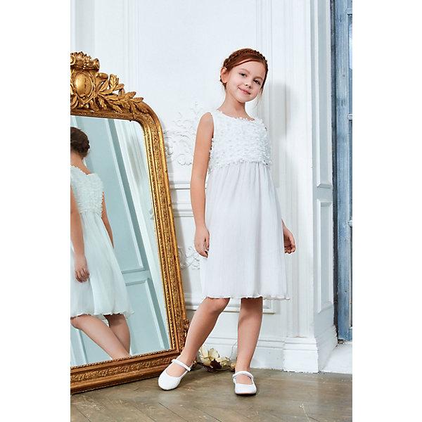 Купить Платье Choupette для девочки, Россия, экрю, 140, 134, 128, Женский