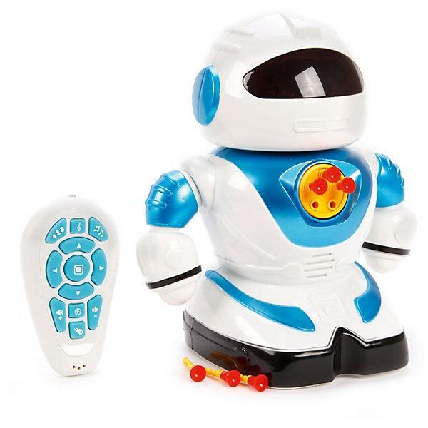 Наша Игрушка Радиоуправляемый робот Наша Игрушка со светом и звуком hap p kid игрушка робот red revo 3578t