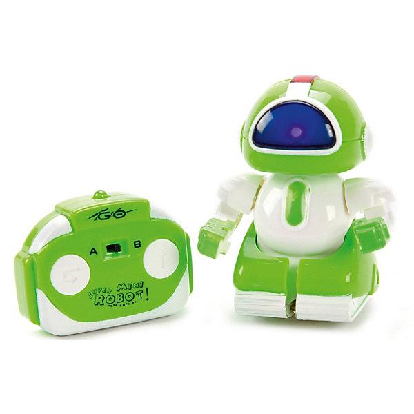 Наша Игрушка Робот Наша Игрушка Миниботик на ИК-управлении, зеленый 4m управляемый робот кладоискатель
