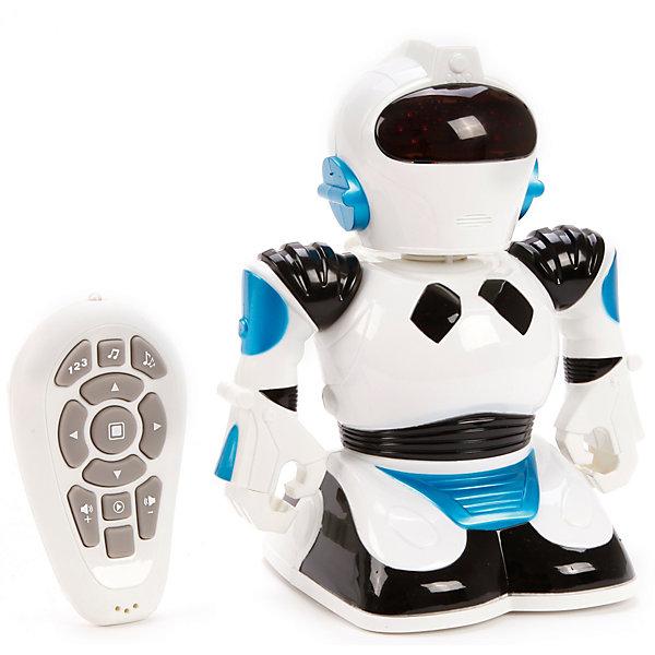 Наша Игрушка Радиоуправляемый робот Наша Игрушка со светом и звуком, белый наталья сердцева валерия черепенчук екатерина хортова главные научные теории за 1 час комплект из 5 книг isbn 978 5 699 98597 5 page 5