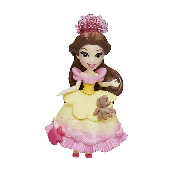 """Hasbro Мини-кукла Disney Princess """"Маленькое королевство"""" Бель, 7,5 см"""