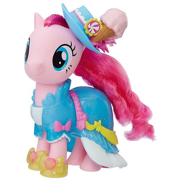 Hasbro Игровой набор My Little Pony Сияние пони-модницы Пинки Пай с аксессуарами, 15 см