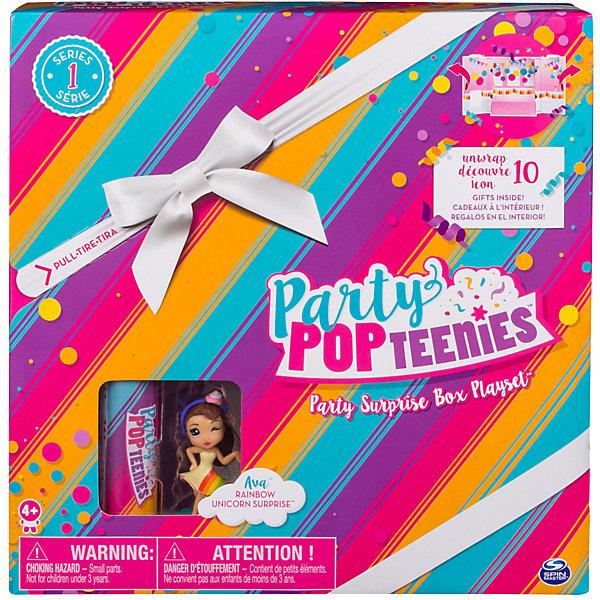 Фото - Spin Master Игоровой набор Spin Master Party Popteenies Коробка с сюрпризом фотоаппарат