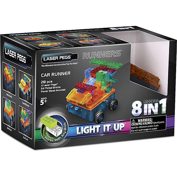Laser Pegs Светящийся конструктор 8 в 1 Laser Pegs