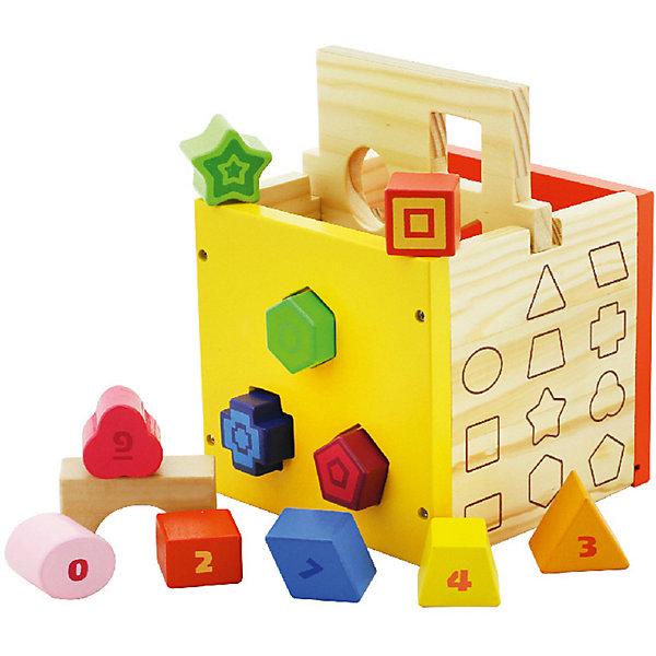Vulpi Деревянный сортер Vulpi Куб сортер технок куб умный малыш супер логика 2650