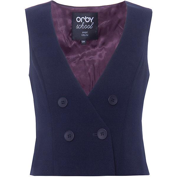 Orby Жилет ORBY для девочки жилет для девочки orby цвет черный 80401 olg размер 140