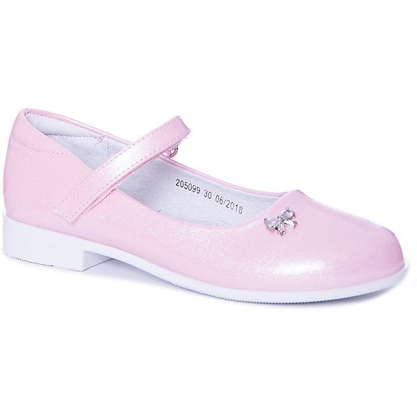 Купить Туфли Mursu для девочки, Китай, розовый, 31, 27, 29, 28, 32, 30, Женский
