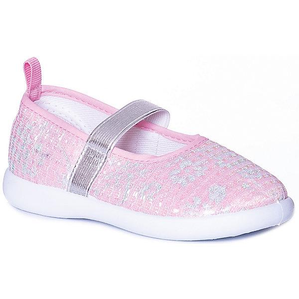 Купить Туфли Mursu для девочки, Китай, розовый, 26, 22, 24, 25, 21, 23, Женский