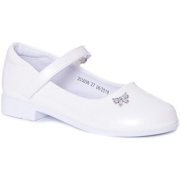 Купить Туфли Mursu для девочки, Китай, белый, 29, 27, 31, 30, 32, 28, Женский