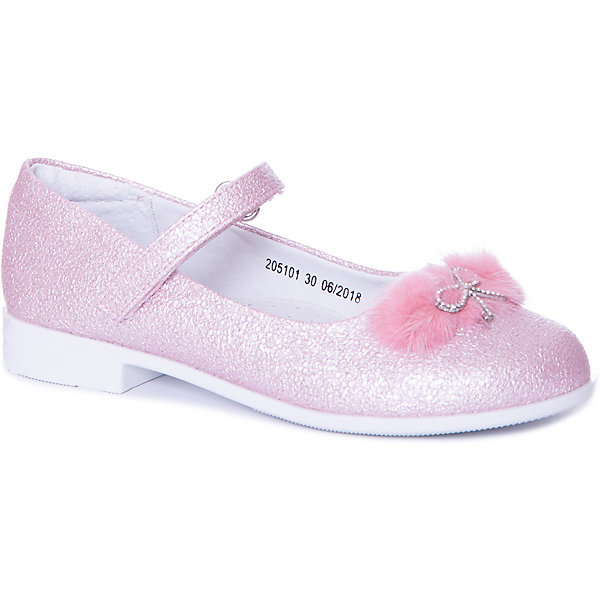 Купить Туфли Mursu для девочки, Китай, розовый, 29, 32, 28, 31, 27, 30, Женский