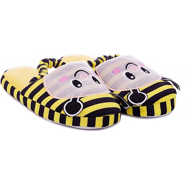 Купить Домашние тапочки Mursu для девочки, Китай, черный/желтый, 28, 30, 31, 29, 27, 32, Женский